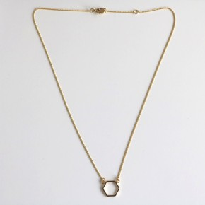 Collier Hexagone