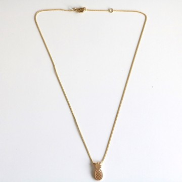 Collier Ananas or